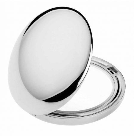 Зеркало для сумочки хром Диаметр 50 Код CR402