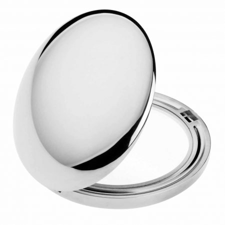 Chromium handbag mirror Diameter 50 Magnification x3 Cod. CR402.3
