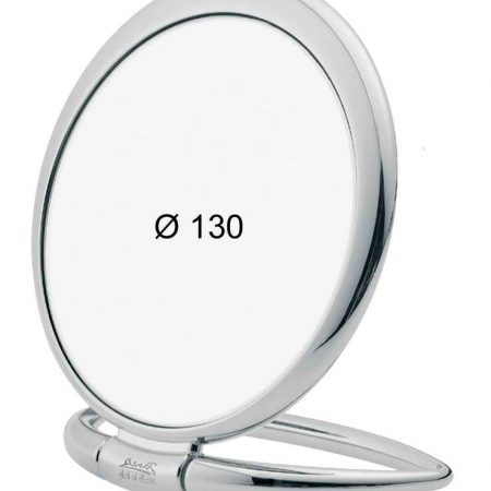 Chromium table mirror, Magnification X6, Diameter 130 Cod. CR444.6