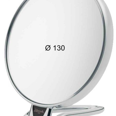 Chromium table mirror, Magnification X3, Diameter 130 Cod. CR446.3