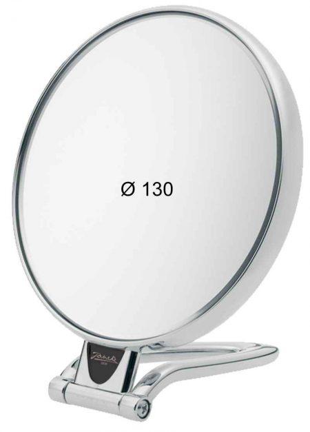 Chromium table mirror, Magnification X3, Diameter 130 Cod. CR446.3