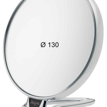 Chromium table mirror, Magnification X6, Diameter 130 Cod. CR446.6