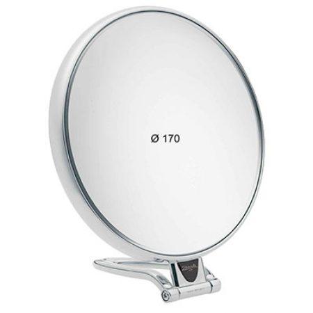 Зеркало настольное хром Увеличение x6 Диаметр 170 Код CR447.6
