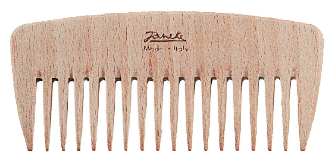 Гребень с редкими зубьями для создания причёски бук Код LG362