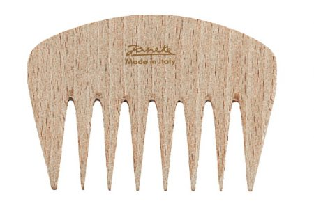 Beech wide-teeth styling comb, small Cod. LG363