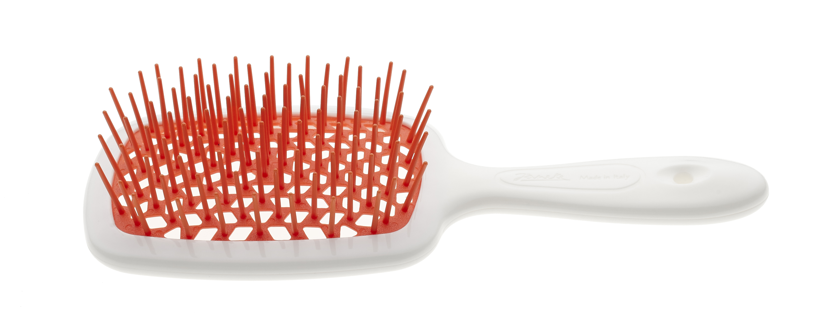 Hairbrush with soft moulded tips Cod. SP226 BIA ARA