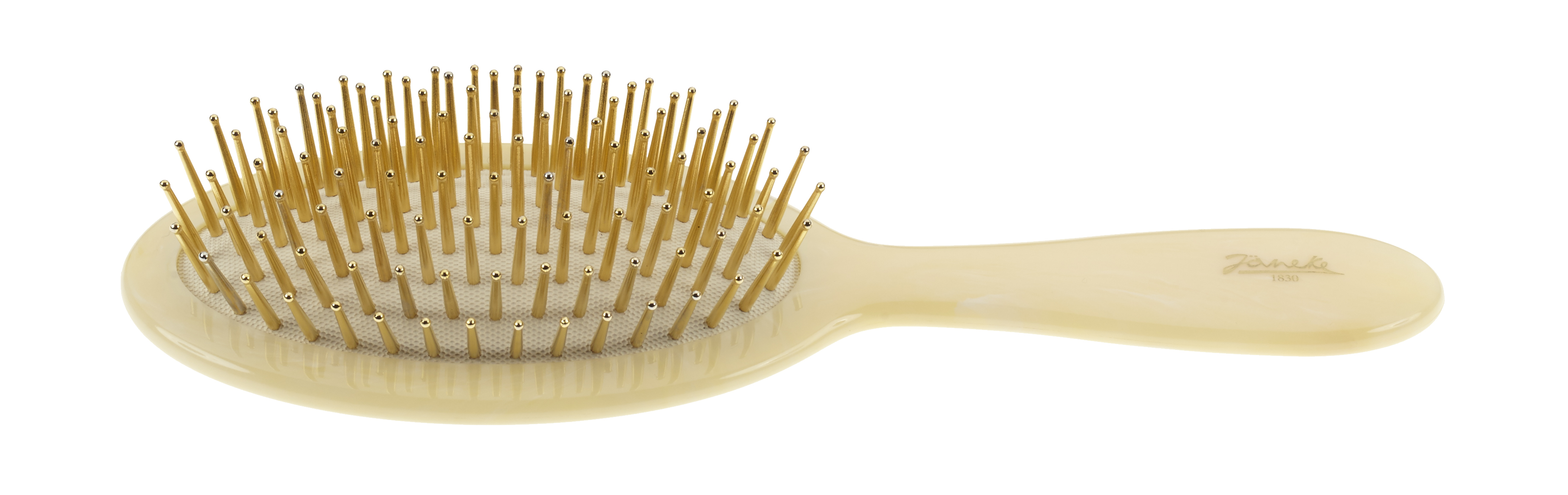 Hair-brush horn imitation with gold pins Cod. SP22G CRN
