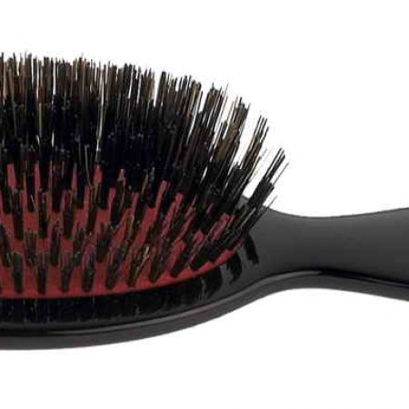 Black handbag brush with bristles Cod. SP24SF NER