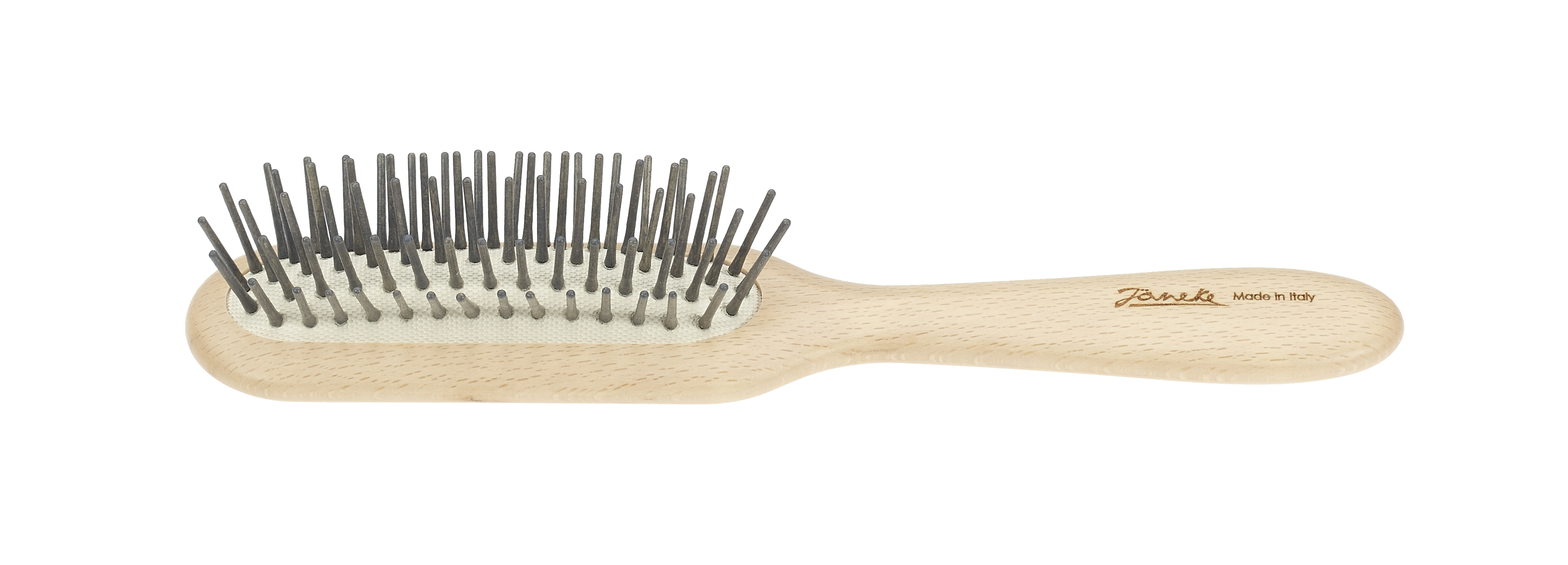 Beech rectangular hairbrush Cod. SP64C GRI