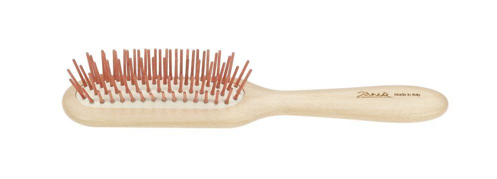 Beech rectangular hairbrush Cod. SP64C RSA