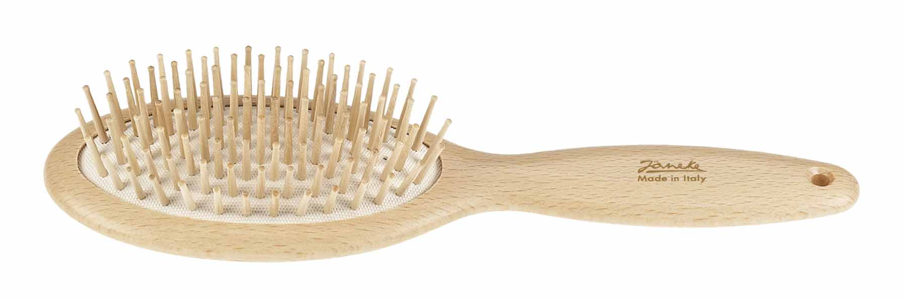 Beech oval hairbrush, large Cod. SP65
