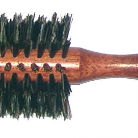 Bobinga wood hair-brush 21,5 cm, Diameter mm 48 Cod. SP83K