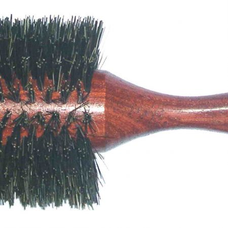 Bobinga wood hair-brush 23 cm, Diameter mm 70 Cod. SP85K